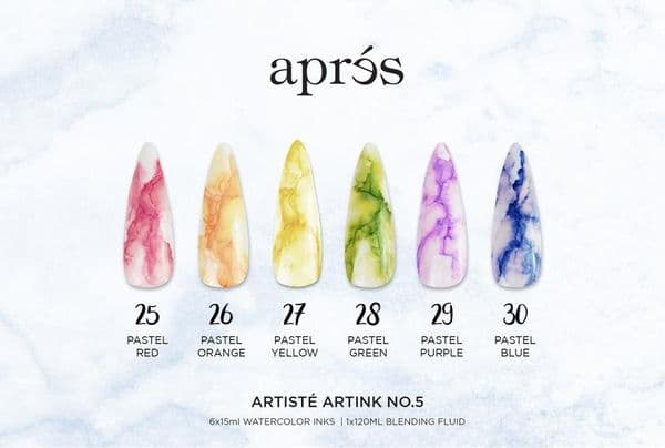 Aprés Artisté ArtInk (SET) - with Blending Fluid 120ml
